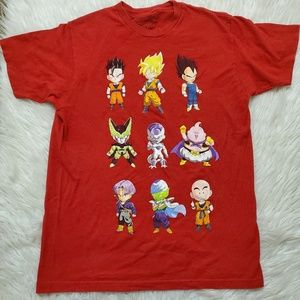 Dragon Ball Z Ripple Junction Characters Tshirt